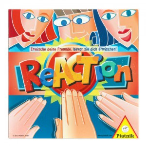 Piatnik 631771 - Reaction, Brettspiel